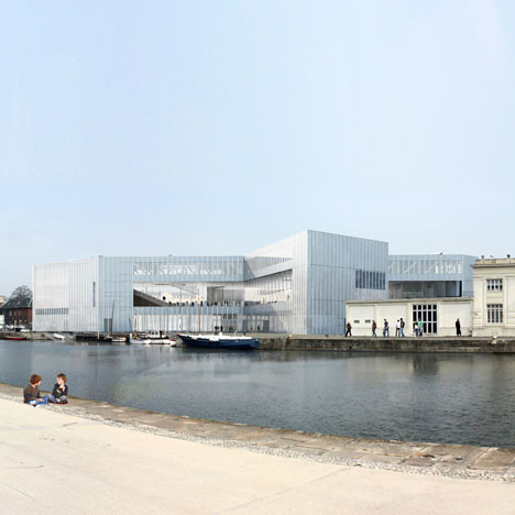 Work starts on OMA-designed library in Caen, France 1