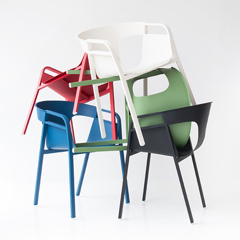 Kirk chair by Patrick Frey for Vial 3
