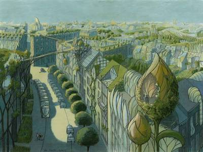 Architect's future 'Vegetal Cities' merge nature with the man-made (Video) 1