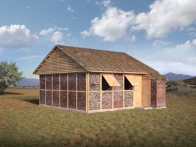 Brick rubble to be reused in Nepal earthquake relief housing, says Shigeru Ban 1