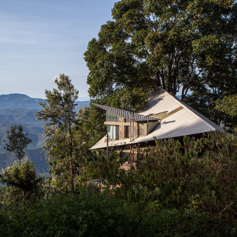 Hornbill House by Biome Environmental Solutions faces out over an Indian tea plantation 1
