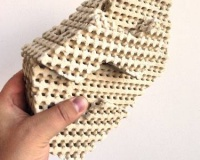 Intricate 3D printed ceramic bricks would cool homes with evaporation