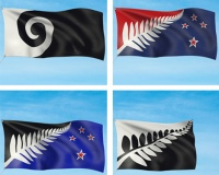 New Zealand shortlists four designs for crowdsourced national flag