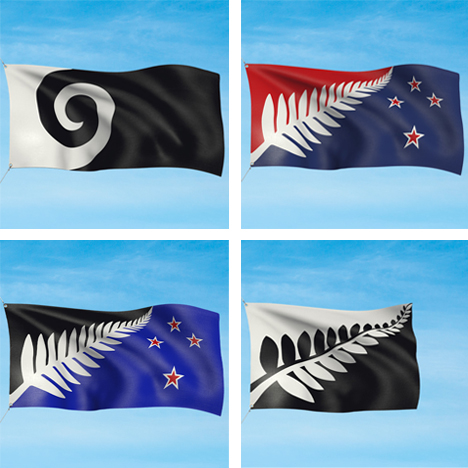 New Zealand shortlists four designs for crowdsourced national flag 1