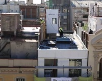 Pop-up prefab units build Barcelona up, rather than sprawl out (Video)